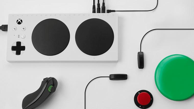 Controle adaptativo do Xbox permite que jovem com deficiência jogue no Nintendo Switch