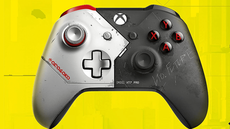 Amazon vaza suposto controle de Cyberpunk 2077 para Xbox e nós queremos que seja real