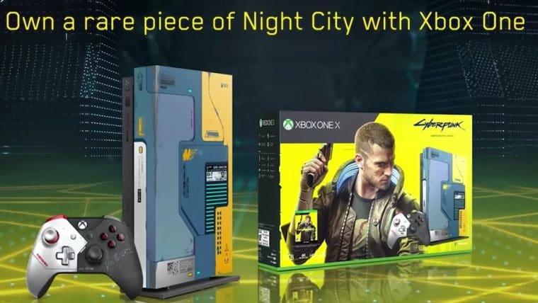 Microsoft divulga edição especial de Cyberpunk 2077 para o Xbox One X