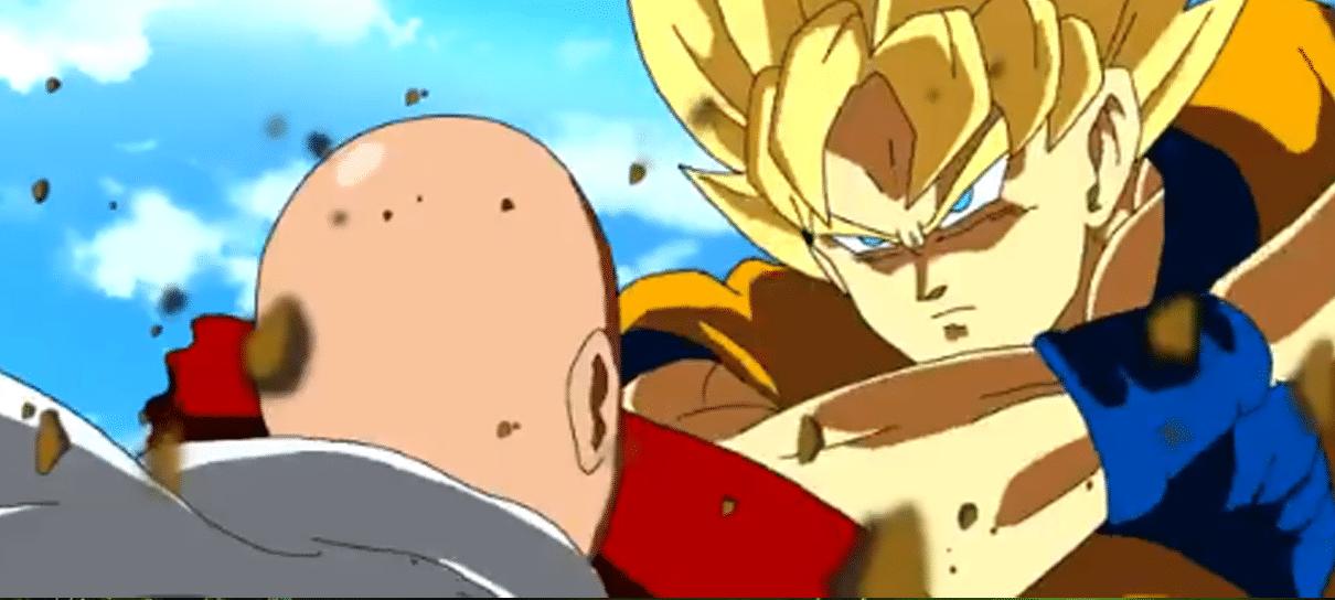 Goku e Saitama se enfrentam em vídeo crossover feito por fã