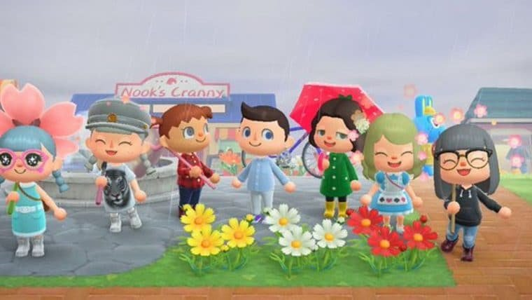 Elijah Wood está visitando a ilha de outros jogadores no Animal Crossing