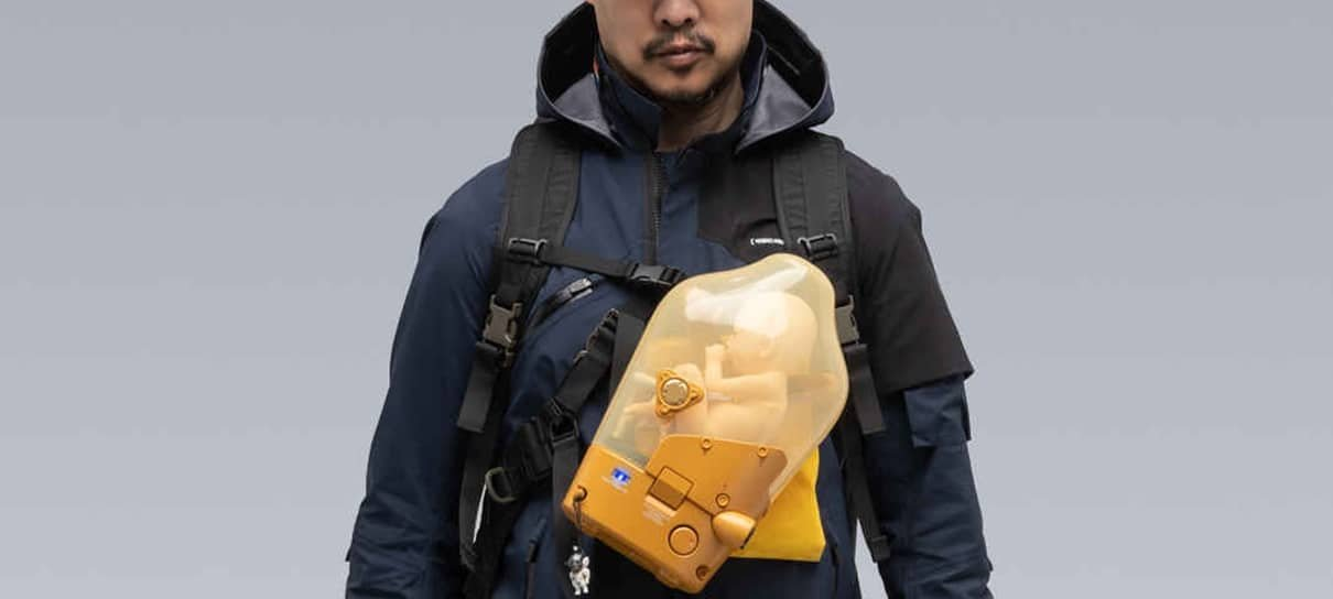 Empresa lança jaqueta inspirada em Death Stranding que custa US$ 2 mil