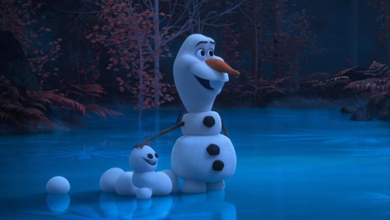 Olaf, de Frozen, ganha série de animações curtas para a internet