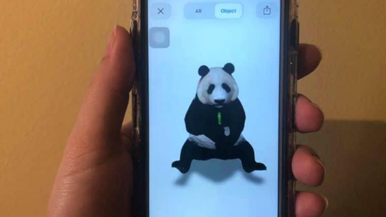 Google mostra animais em tamanho real por meio de realidade aumentada