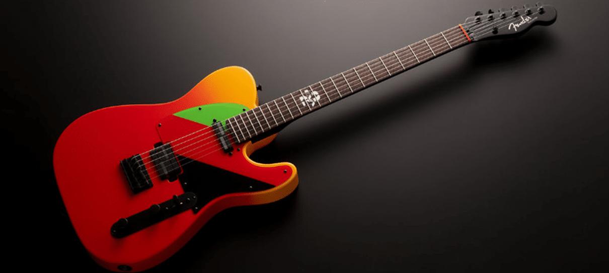 Fender anuncia guitarra especial em homenagem a Evangelion