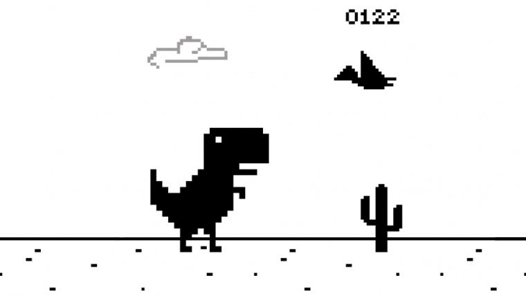 Alguém automatizou o jogo do dinossauro do Google Chrome