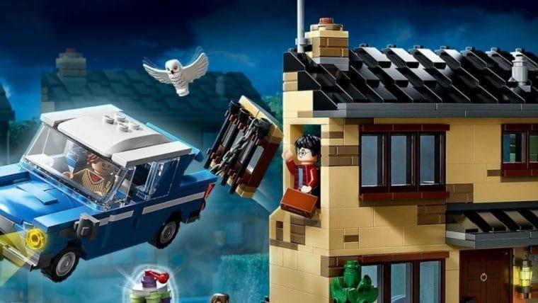 Nova coleção de Lego Harry Potter traz momentos icônicos da saga