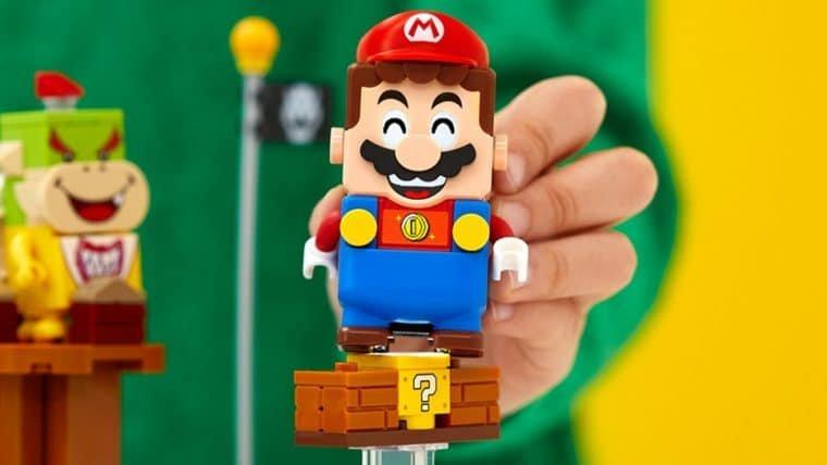 LEGO Super Mario chegará em agosto e terá expansões com Power Slide e Castelo do Bowser