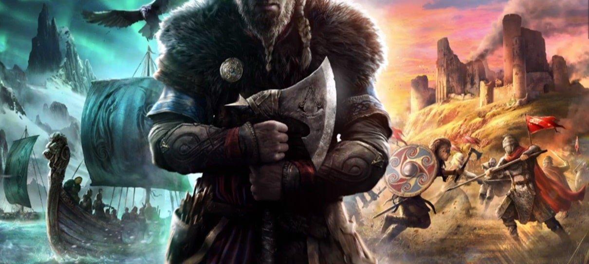 Assassin's Creed Valhalla é o novo jogo da franquia