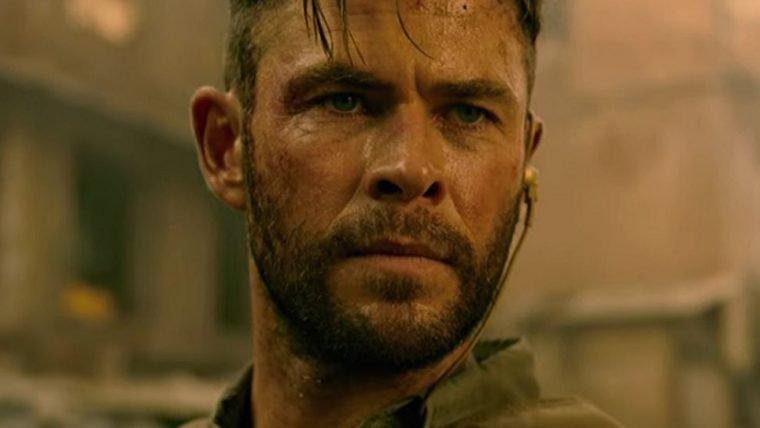 Resgate | Vídeo de bastidores mostra Chris Hemsworth em cenas intensas de ação