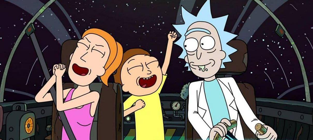 Rick and Morty | Imagem inédita traz referências a Alien e Prometheus