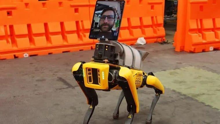 Robôs da Boston Dynamics estão ajudando médicos a tratarem pacientes remotamente