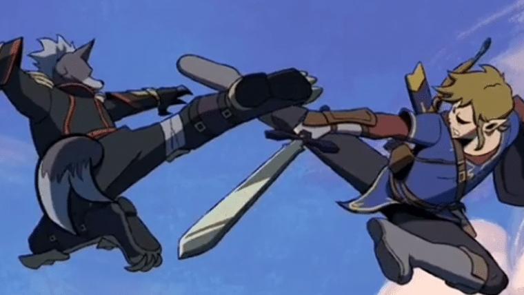 Super Smash Bros.   Artista anima sequência de luta de tirar o fôlego