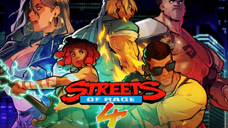 Streets of Rage 4 ganha trailer mostrando Modo de Batalha e data de lançamento