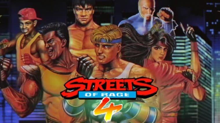 Streets of Rage 4 | Trailer retrô anuncia 12 personagens clássicos da franquia
