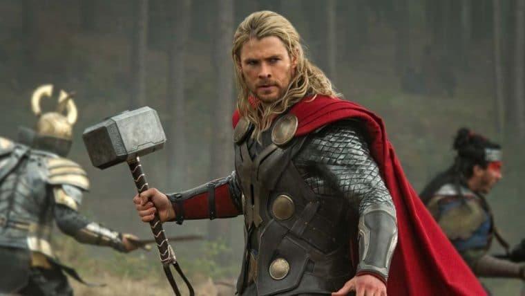 Esposa de Chris Hemsworth não deixa o martelo do Thor ficar exposto pela casa