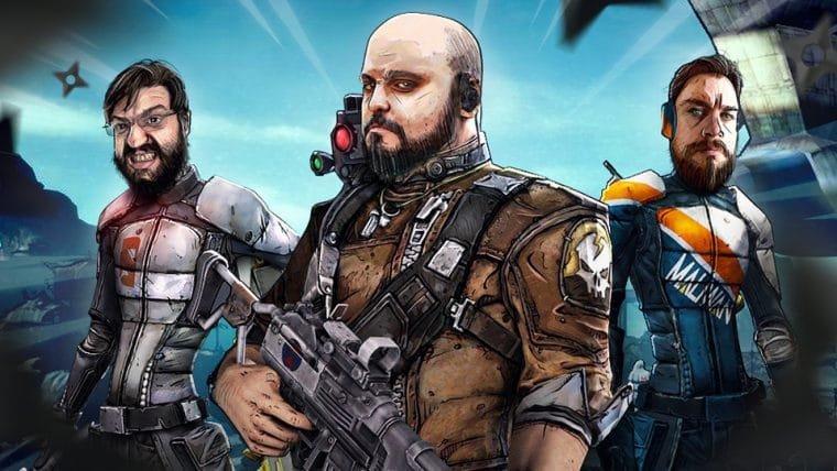 Borderlands 2 - Dois Ninjas do barulho