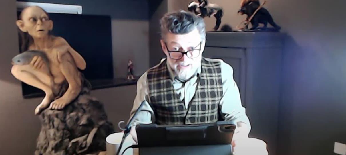 Andy Serkis lê O Hobbit ao vivo; assista agora