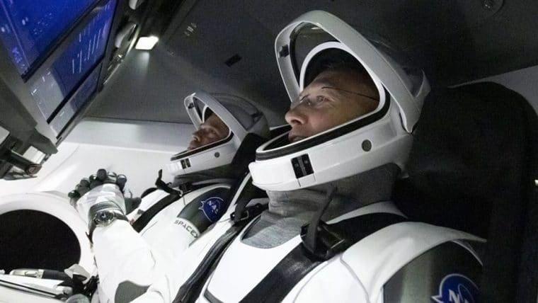Assista aqui ao lançamento da primeira missão tripulada da SpaceX que acontece hoje (30)
