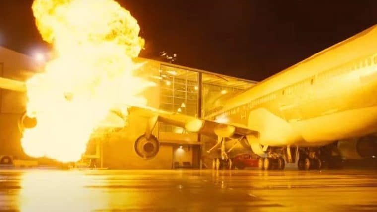 Tenet | Christopher Nolan comprou um avião de verdade para explodir no filme