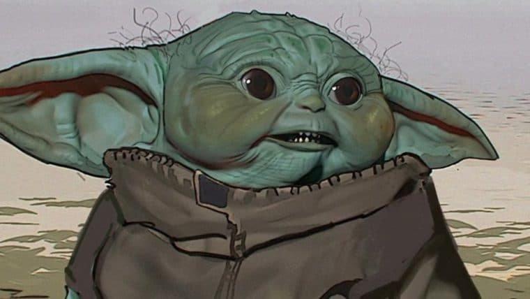 Baby Yoda nem sempre foi fofinho: artes conceituais mostram outras versões do personagem