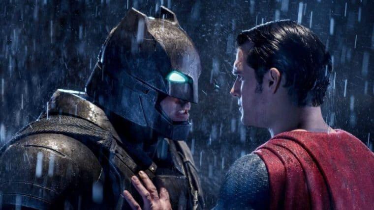 Primeira versão de Batman vs Superman era