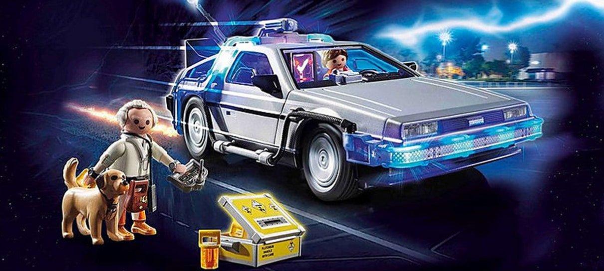 De Volta para o Futuro ganha conjunto de Playmobil em comemoração aos 35 anos de franquia