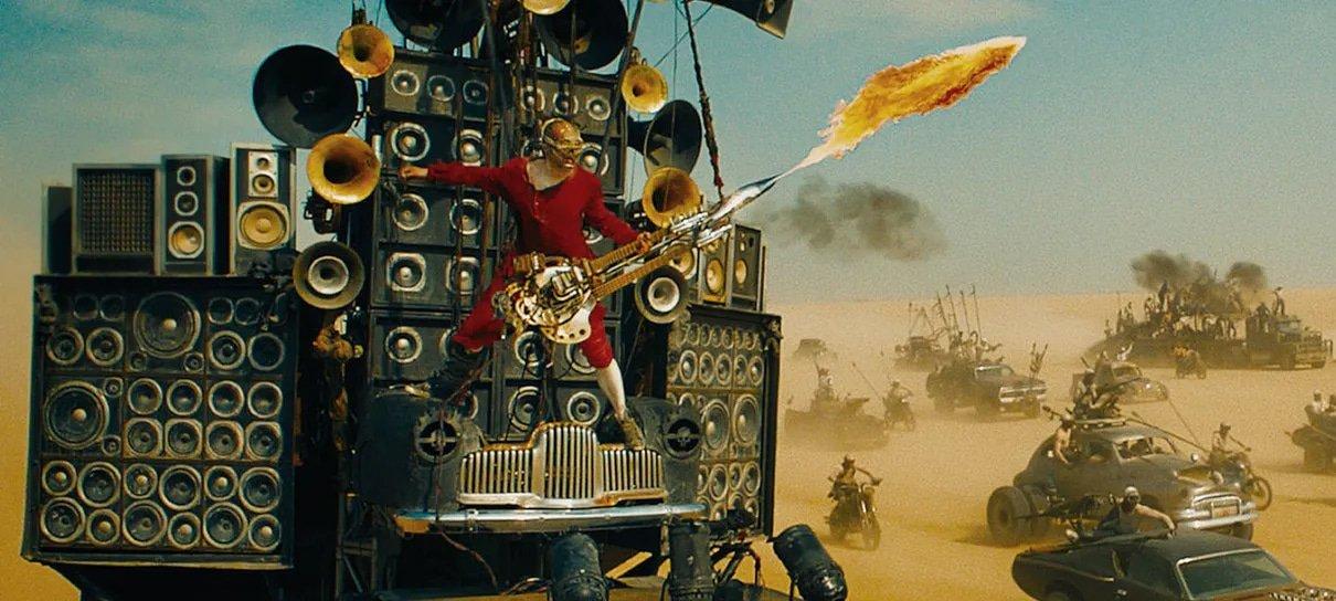 Mad Max: Estrada da Fúria quase não teve o capanga tocando guitarra