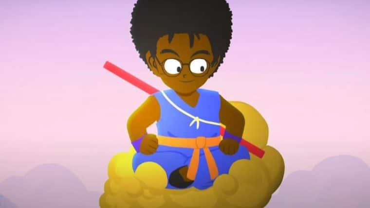 Emicida homenageia Dragon Ball em novo clipe; Mestre Kame, é claro, é Zeca Pagodinho