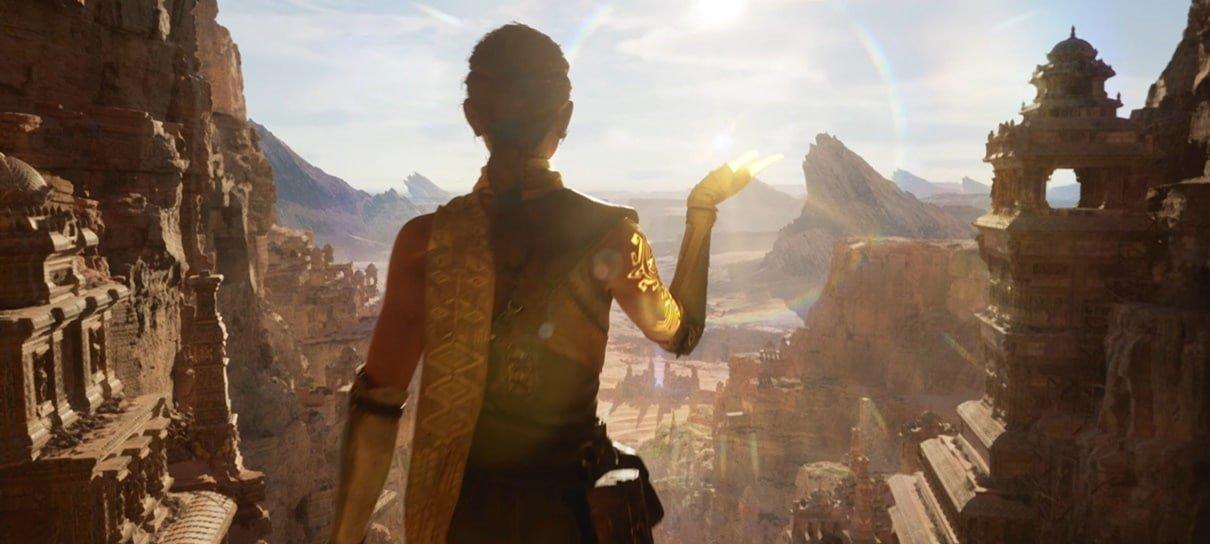 Epic Games explica por que a demo do Unreal Engine 5 estava rodando no PlayStation 5