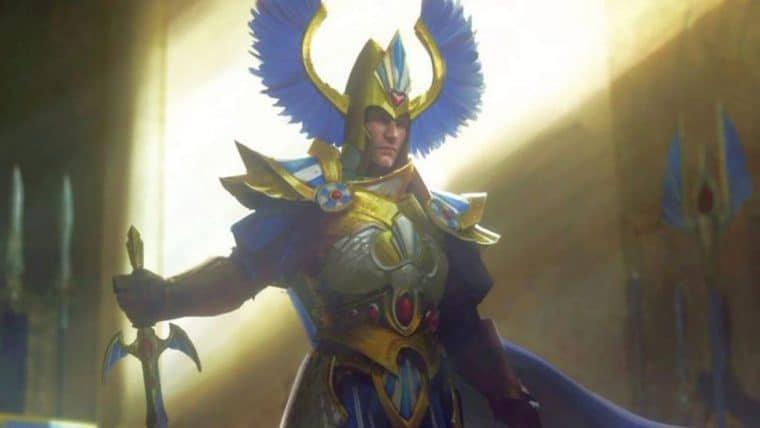 Henry Cavill vira personagem jogável em Total War: Warhammer 2