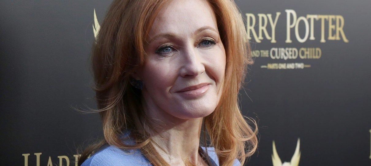 J.K. Rowling doa 1 milhão de libras para o combate contra o coronavírus
