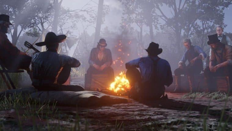 Jogadores estão usando Red Dead Redemption 2 para fazer reuniões de trabalho na quarentena