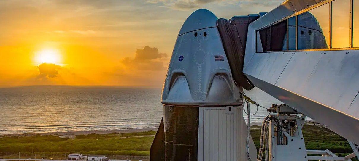 Assista aqui ao lançamento da primeira missão tripulada da SpaceX [Atualizado]
