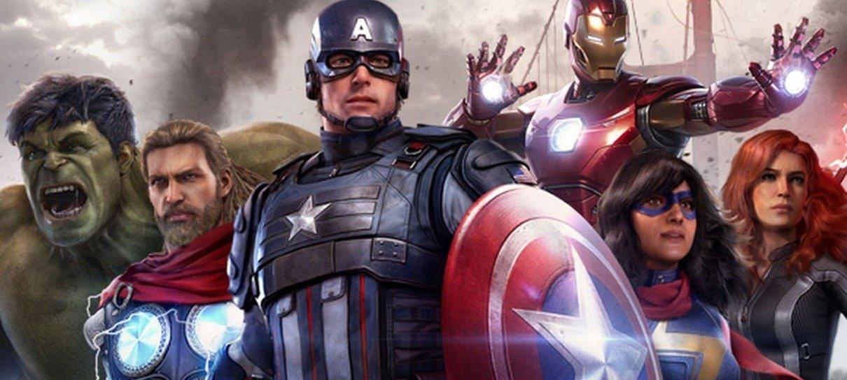 Marvel's Avengers ganhará um novo trailer de gameplay em junho