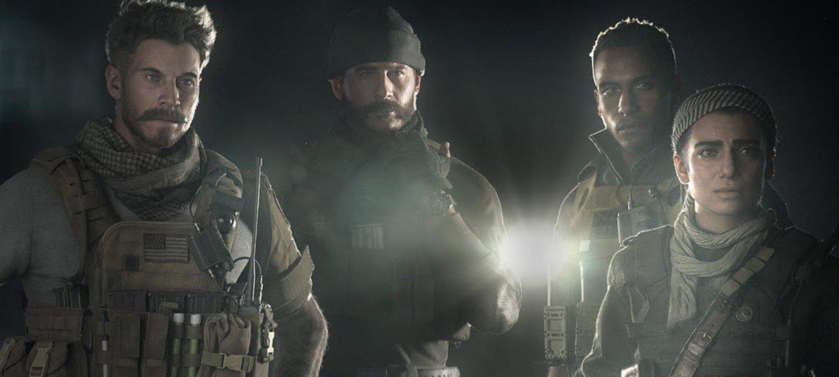 Modern Warfare é o Call of Duty de maior sucesso da história, revela Activision