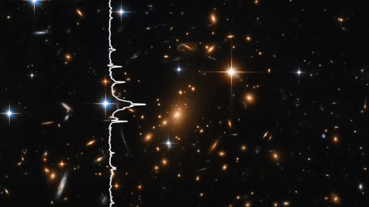 NASA transforma foto de galáxias em música