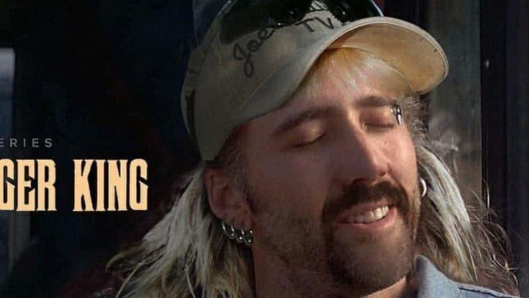 Nicolas Cage viverá Joe Exotic, de A Máfia dos Tigres, em minissérie