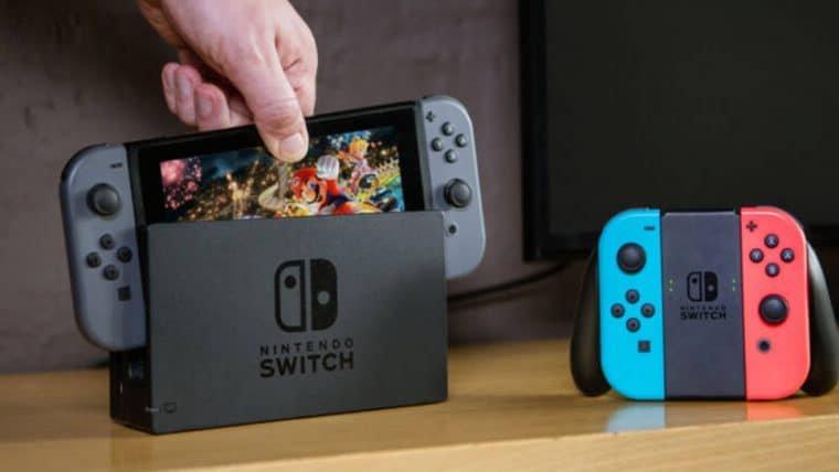 Nintendo Switch vendeu mais de 55 milhões de unidades