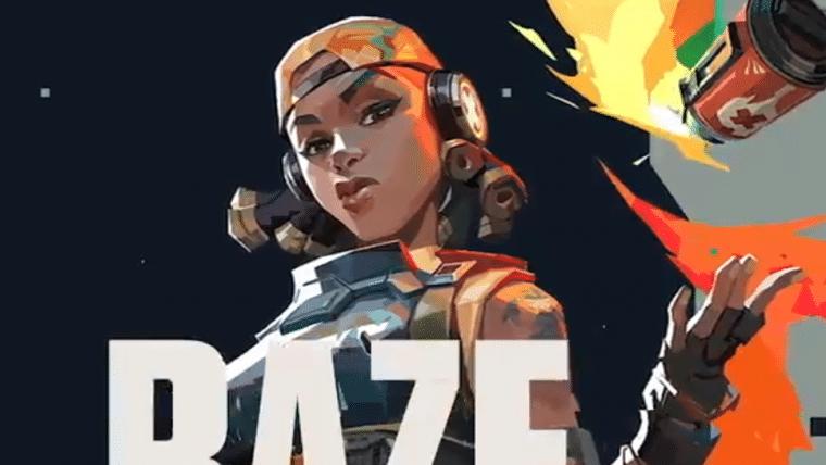 Valorant | Raze, personagem brasileira, ganha vídeo mostrando habilidades e dublagem
