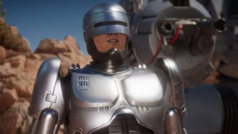 Robocop enfrenta o Exterminador do Futuro em vídeo de Mortal Kombat 11