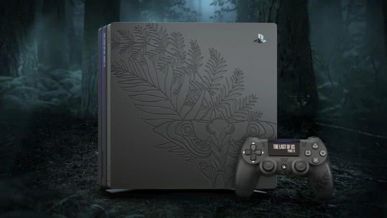 Sony anuncia PlayStation 4 Pro temático de The Last of Us Part II