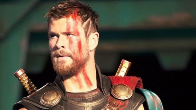 Chris Hemsworth sorteia ingressos para a premiere de Thor: Love and Thunder