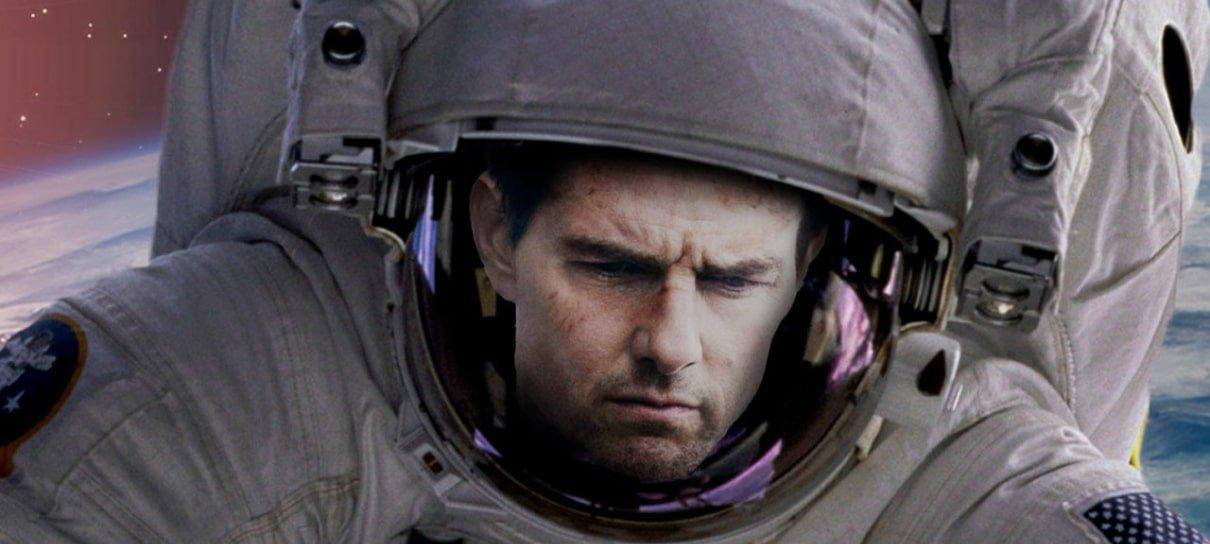 Confirmado! NASA e Tom Cruise vão gravar um filme no espaço