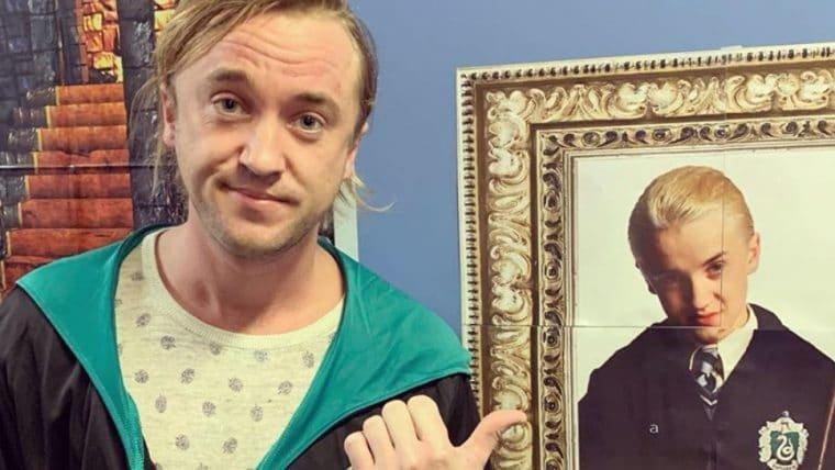 Tom Felton, o Draco Malfoy, se decepciona ao descobrir que não faz parte da Sonserina