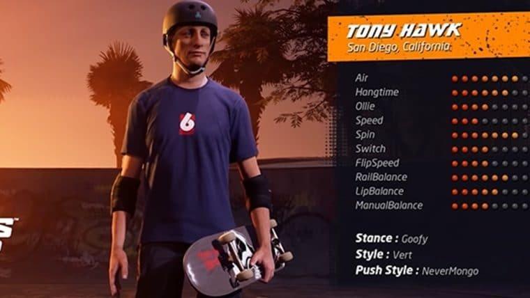 Tony Hawk's Pro Skater 1+2 | Novo gameplay destaca o visual atualizado dos skatistas