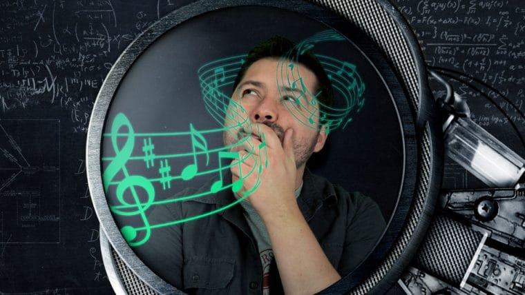 De onde vem as notas musicais?
