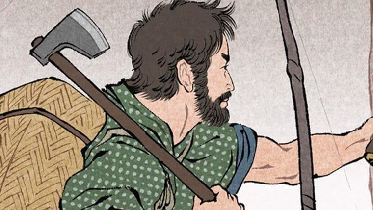 Artista imagina The Last of Us como uma pintura tradicional japonesa