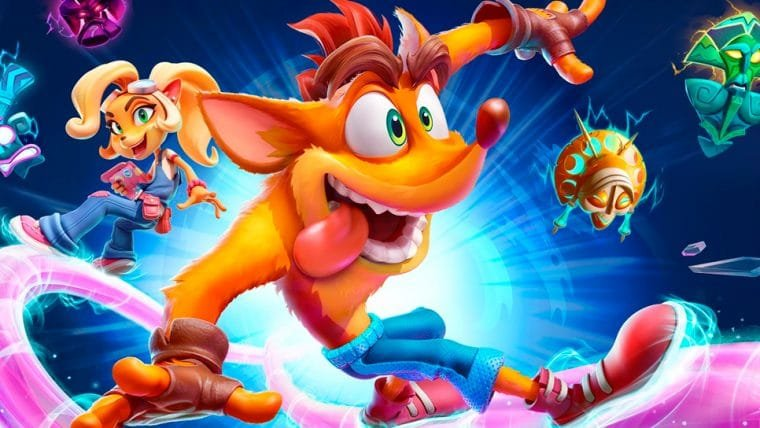 Crash Bandicoot 4: It's About Time terá um modo multiplayer local