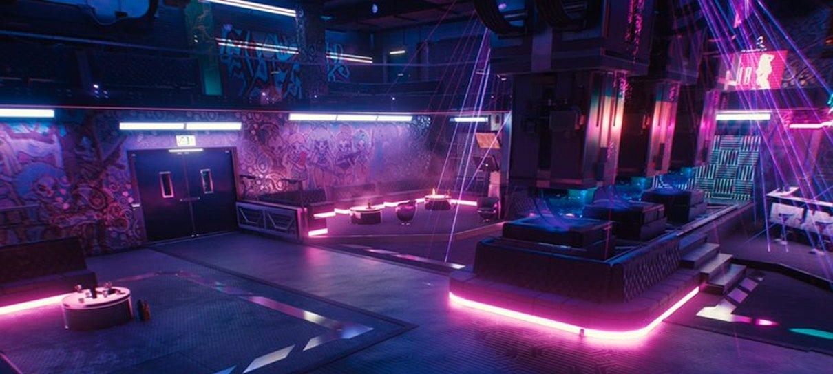 Cyberpunk 2077 | Novas artes conceituais destacam cenários futurísticos e coloridos